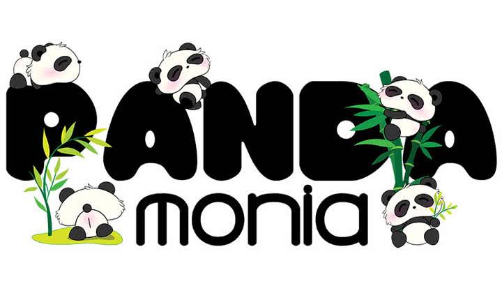 Pandamonia Logo Design