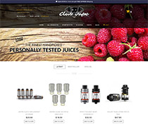 Club Vape Industries website launched!